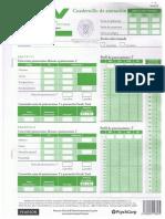 Cuadernillo de respuestas WNV