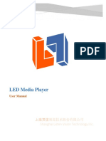 LED Media player