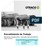 PTS-RT-08 Desarme e inspeccion de neumaticos