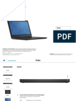 Inspiron 15 3542 Laptop Reference Guide Fr Fr