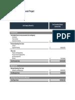 Provincial LRT Budget Cost Estimate