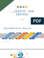 inisiatif dan inovasi