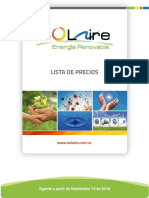 LP General Termica SOLAIRE SEP-15