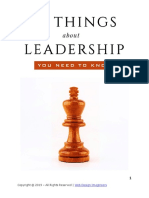 10 Things About Leadership That You Need to Know