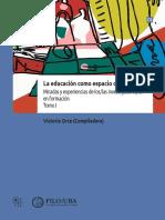 Actas IICE. Educación como espacio de disputa