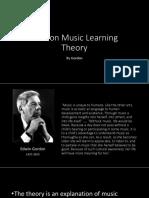 Gordon Music Learning Theory