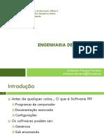 Aula 01 e 02 - Engenharia de Software