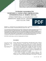 Gil Sevalho - Velocidade - aceleração temporal e infecções emergentes _ epidemiologia e tempo social - - TEXT.pdf