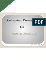 Parallel Computing
