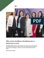 Cientificas Colombianas Que Se Destacaron Een El 2018