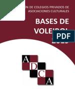 BASES DE VOLEIBOL 2019
