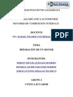 219469413 Informe de Motores Reparacion