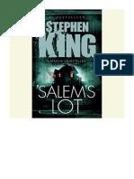 [2012] Salem's Lot by Stephen King |  | Random House Audio