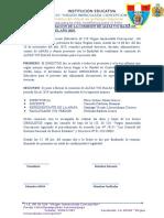 ACTA DE CONFORMACIÓN DEL COMITE DE INVENTARIO