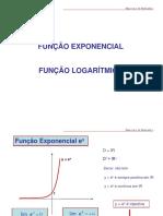 Função Exp e Log