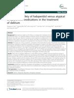 Haloperidol in Delirium