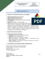 HOJA DE SEGURIDAD DISOLVENTE-1A