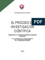 1. El proceso de Investigación científica