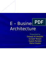 E – Business Architecture