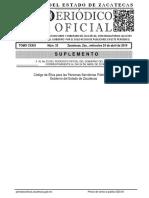 Codigo Etica Personas Servidoras Publicas