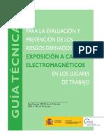 Guía técnica para la evaluación y prevención de los riesgos