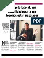 Que Saber Sobre El Despido - Autor José María Pacori Cari