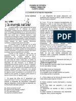EXAMEN DE ESPAÑOL 4° PRIMER TRIMESTRE (1)