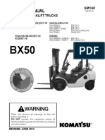 SERVICE MANUAL BX50 SERIES  FORKLIFT TRUCKS