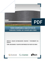 5.Maquinaria y Equipos Disponibles de Puesta en Obra