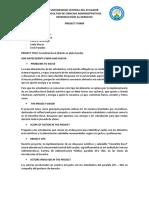Project Form Español