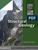 geología estructuras