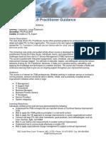 ITIL Practioner Guidance booklet
