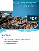 Introduction Computer Systems Servicing Nc II