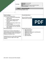unit assessment plan math  8 good