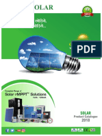 Solar Product catalogue - 2018