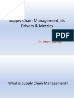 1 Supply Chain Management and its Drivers & metrics