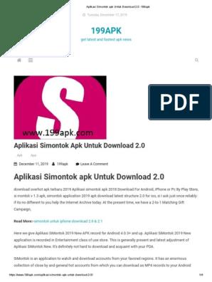Untuk simontok download iphone aplikasi Download Simontox