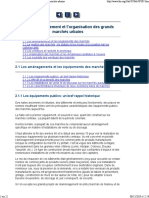 2. Le Fonctionnement Et l'Organisation Des Grands Marchés Urbains