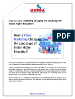 How Is Video Marketing Changing the Landscape of Indian Higher Education? - ASMA