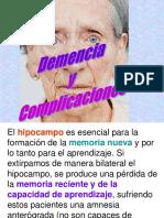 3. Demencia y complicaciones