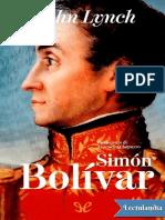 Simon Bolivar - John Lynch