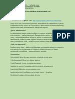 3.0 Fundamentos Administrativos Yolvy Abril Unidad 3