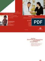 Guia da Organização Mundial da Saúde Para Eliminação da Hanseníase Como Problema de Saúde Pública