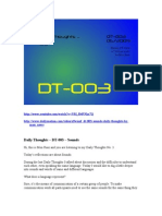 DT-003 - Sounds - Daily Thoughts