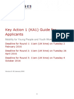 2016 Guide for Applicants Youth Key Action 1 Version 2