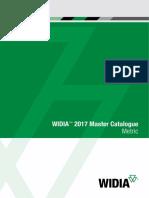WIDIA 2017 Master Catalog Metric