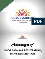 Advantages of MSME Registration