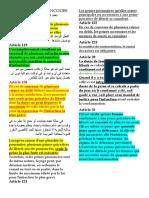 Concours d'infractions en droit marocain (2019)