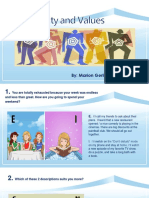 PPT_Personality and Values by Marion