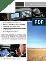 Barrett 2050 HF Transceiver Brochure English